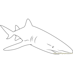 Sharks With Lasers Free Coloring Page for Kids