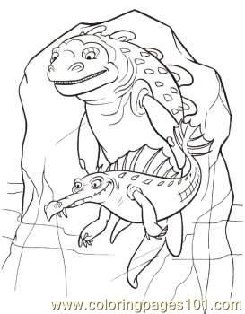 And Ugly Fish Coloring Page Coloring Page
