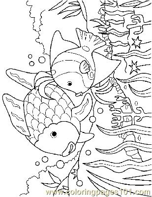 Fish12 Coloring Page