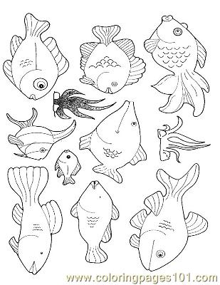 Fish29 Coloring Page