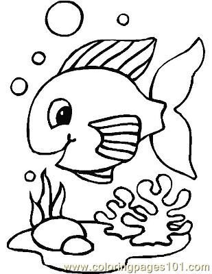 Fish36 Coloring Page
