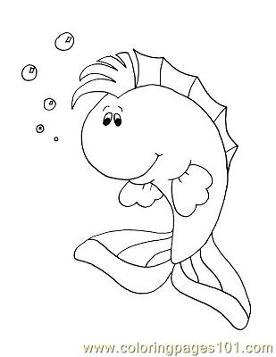 Fish38 Coloring Page