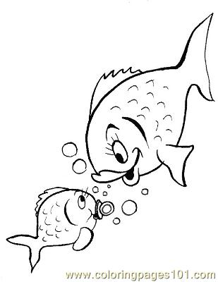 fish43 coloring page