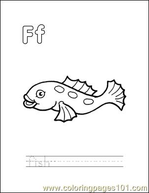 Fish58 Coloring Page