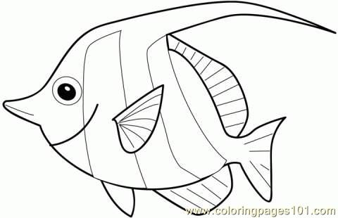 Fish Coloring Page Coloring Page - Free Other Fish Coloring Pages ...
