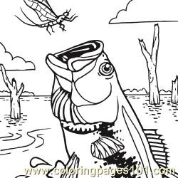 Fishx250 Coloring Page