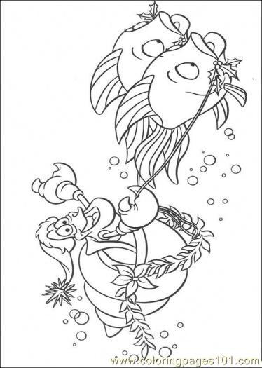 fish coloring pages coloringpages101com sea