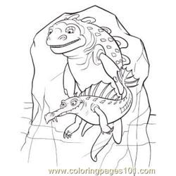 And Ugly Fish Coloring Page
