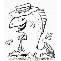 Fish Coloring Pages 1 Med