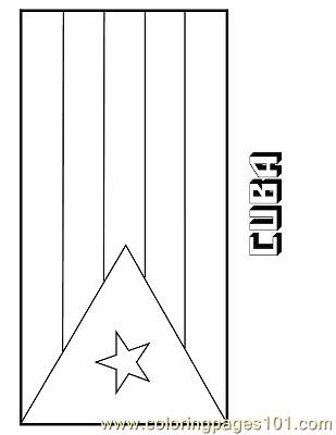 Cuba Coloring Page Free Flags Coloring Pages Coloringpages101 Com Zambia Flag Coloring Page
