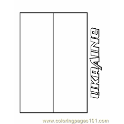 Ukraine coloring page