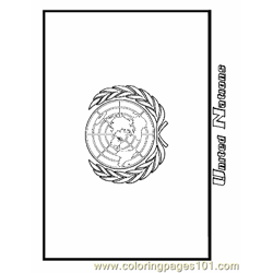 United Nations Free Coloring Page for Kids