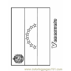Venezuela Free Coloring Page for Kids
