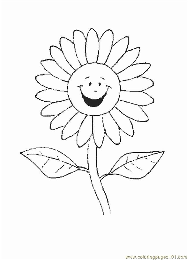 Flower1 Coloring Page