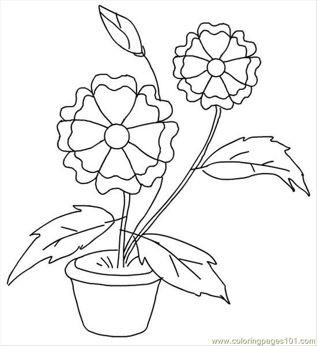 Flower4 Coloring Page