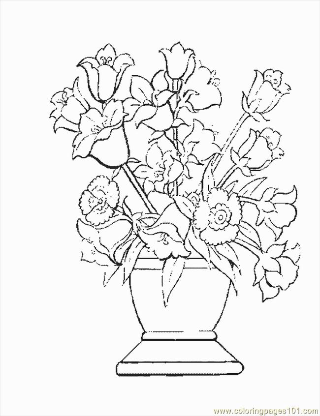 Flower7 Coloring Page