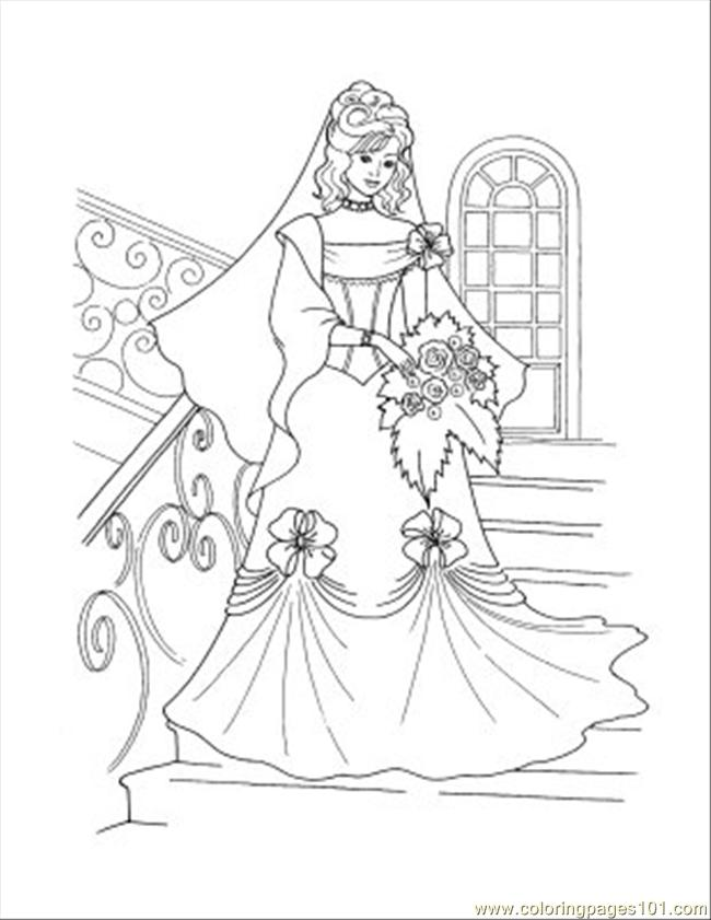 Princess Coloring Pages 66 Coloring Page