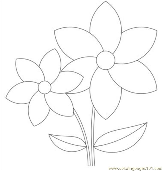 Rose Windows 1 T Coloring Page Free Flowers Coloring Pages