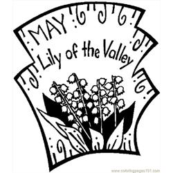 05 May   Lily Of Valley 2
