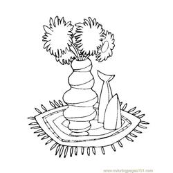 Flower Picture (3) Free Coloring Page for Kids