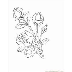 Flower15 coloring page