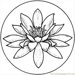 Lily 19  Free Coloring Page for Kids