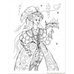 Princess Coloring Pages 28 Free Coloring Page for Kids