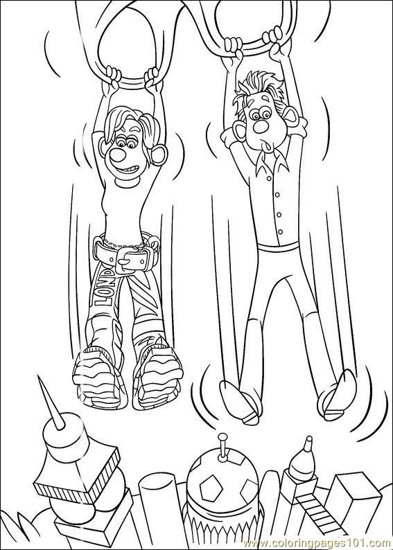 Flushed Away Coloring Pages 13 Coloring Page Free Flushed Away