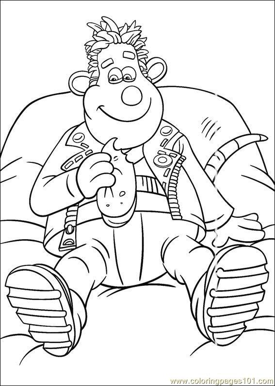 Flushed Away Coloring Pages (2) Coloring Page