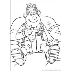 Flushed Away Coloring Pages (2) Free Coloring Page for Kids
