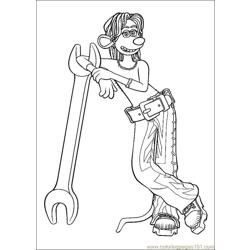 Flushed Away Coloring Pages (6) Free Coloring Page for Kids