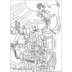 Flushed 11 coloring page