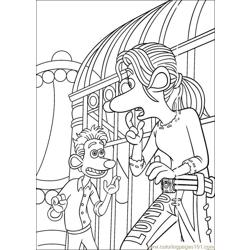 Flushed 15 coloring page