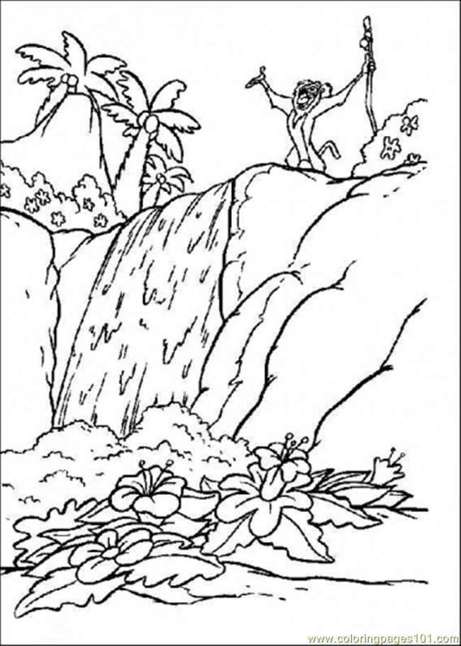 I In The Forest Coloring Page Coloring Page - Free Forest Coloring ...