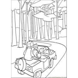 Car In The Forest