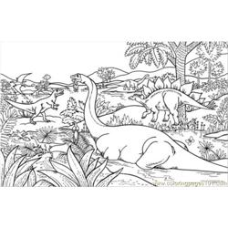 Dinosaurs In Jungles