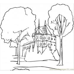 N In The Forest Coloring Page coloring page