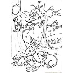 Ures Pages Photo Forest P6444 Free Coloring Page for Kids