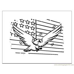 Fourth July General Free Coloring Page for Kids