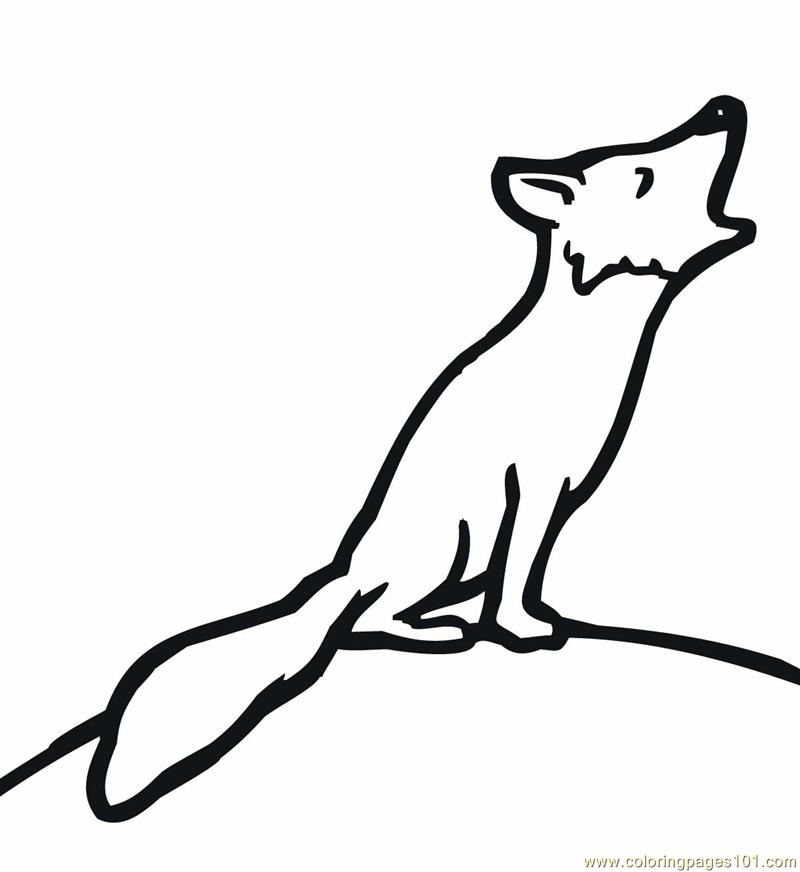 Fox Coloring Page Free Fox Coloring Pages Coloringpages101 Com