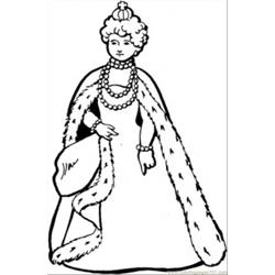 Queen Of France coloring page