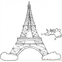 Symbol Of France coloring page