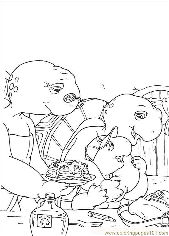 Franklin02 Coloring Page