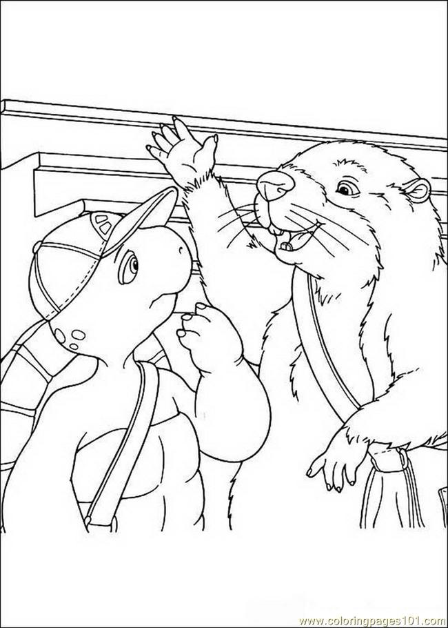 Franklin 10 Coloring Page