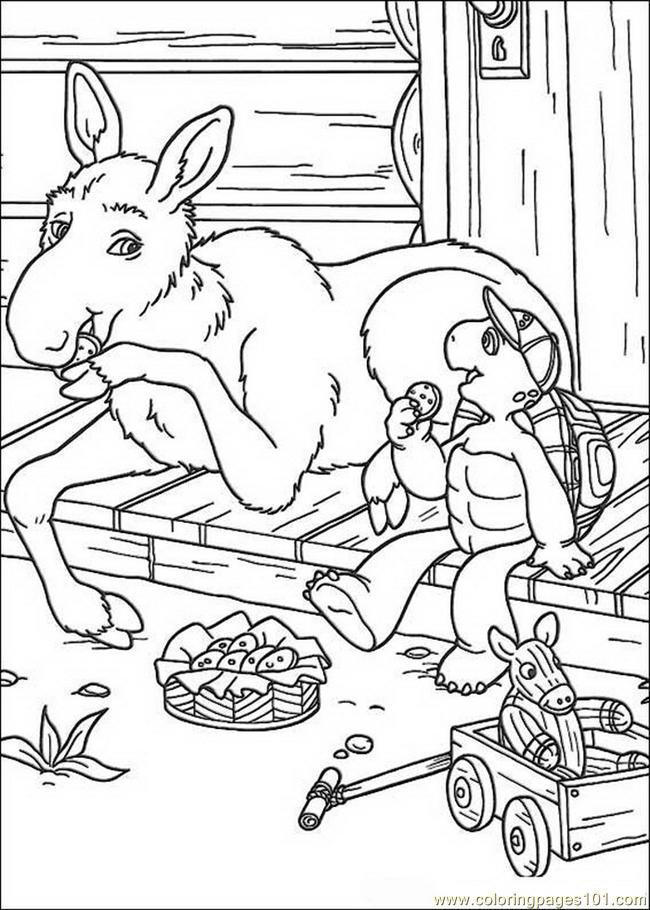Franklin 12 Coloring Page