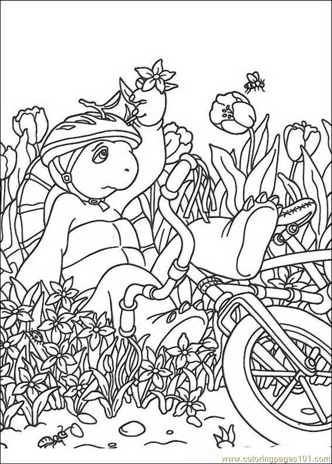 Franklin 17 Coloring Page