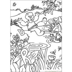 Franklin 01 coloring page