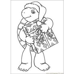 Franklin 05 coloring page