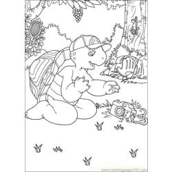 Franklin05 coloring page