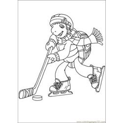 Franklin 06 coloring page